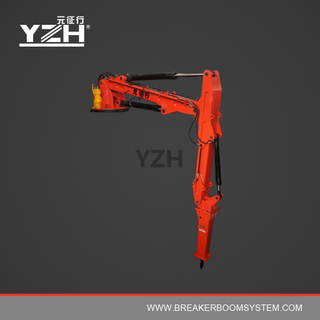 XL1200R Pedestal Boom Breaker To Fix On Stationary Steel Structure At Cooler