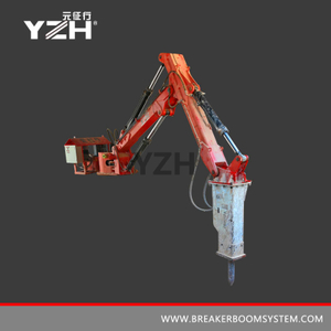 M630 Stationary Type Robotic Rock Breaker Boom System