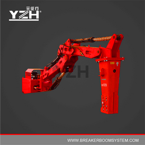 Stationary Type Hydraulic Rockbreaker Booms System