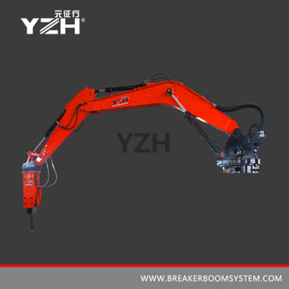XL940R 360° Rotation Type Stationary Rock Breaker Boom System