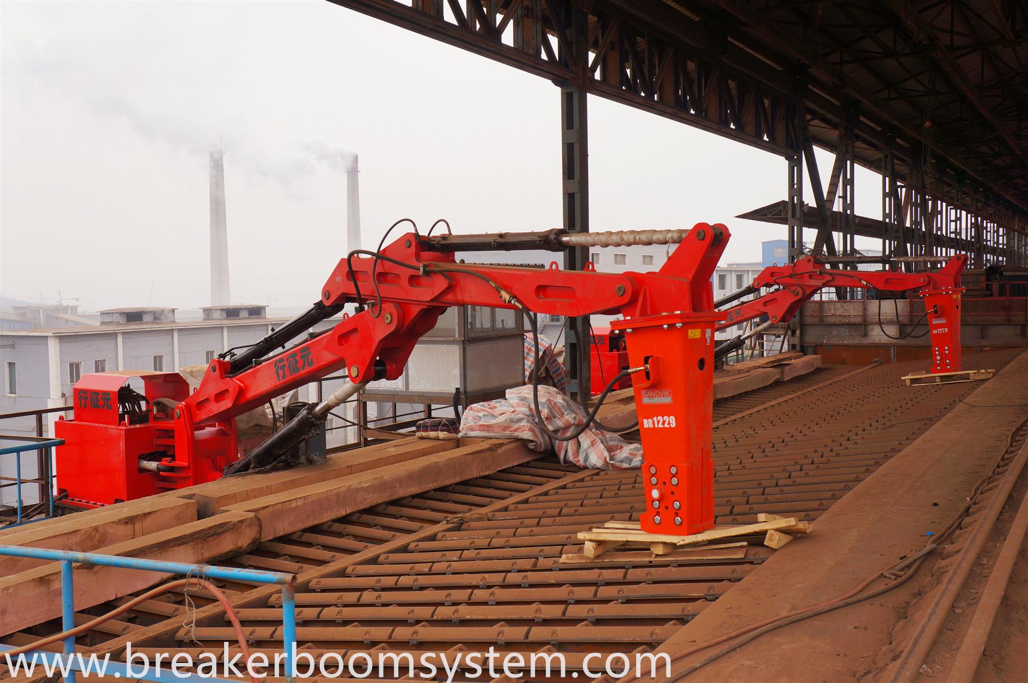 Hydraulic Rock Breaker Booms System