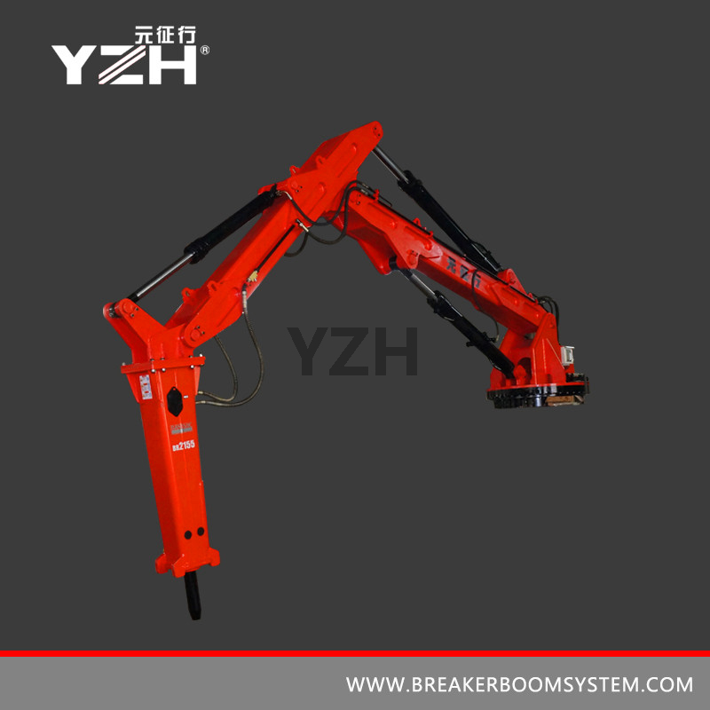 L 940 R 360° Slewing Type Mobile Rock Breaker Boom Systems