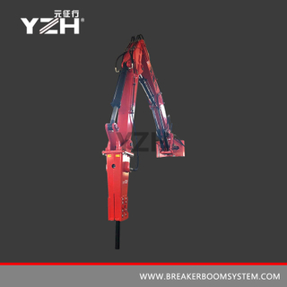 XL 1200 Pedestal Rock Breaker Boom System For Mobile Crusher