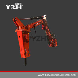 S 550 170° Swing Stationary Type Pedestal Boom Systems