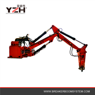 Stationary Hydraulic Rock Breaker Boom System