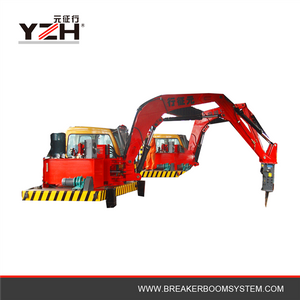 Heavy Duty Mining Applications Pedestal Rockbreakers Boom System