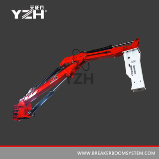 Static Type Pedestal Hydraulic Rock Breaker Booms System
