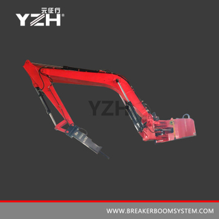 Stationary Pedestal Hydraulic Rock Breaker Boom System