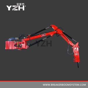 YZH-XM950 170° Swing Fixed Type Pedestal Booms Breaker System