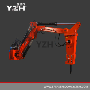 YZH-XM700 Fixed Pedestal Manipulators With A Hydraulic Breaker