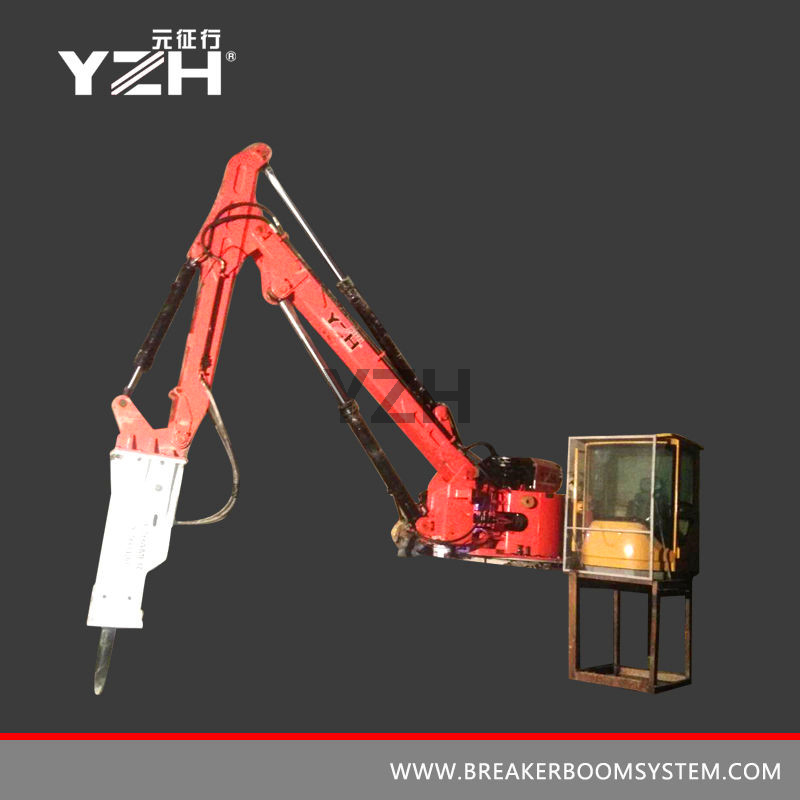 Portable Boom Rock Breakers System