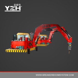 YZH-S630 Pedestal Boom Hydraulic Breaker System For Grizzlies