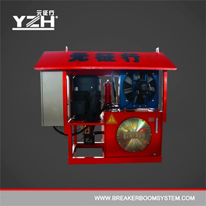 Optional Electro-Hydrauilc Oil Power Pack Station