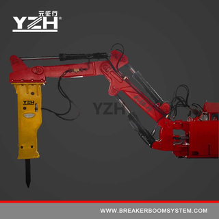 Stationary Type Pedestal Boom Breaker System