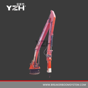 Fixed Type Pedestal Rock Breaker Booms System