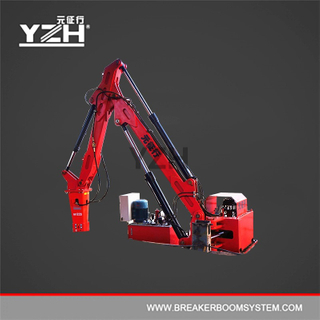 YZH-XM750 Stationary Type Pedestal Boom Rock Breakers